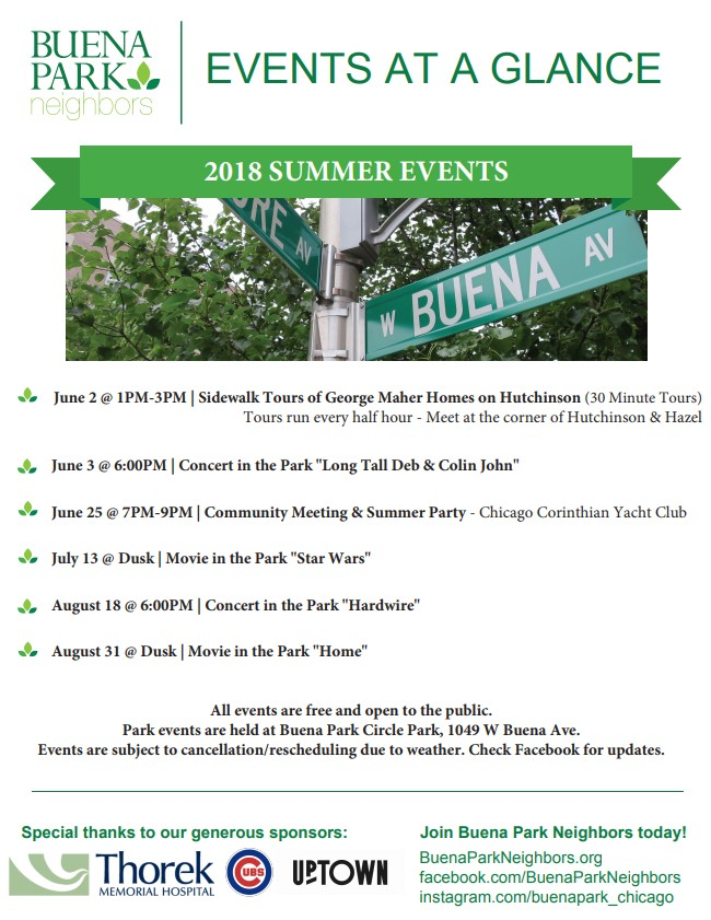 BPN Events at a Glance